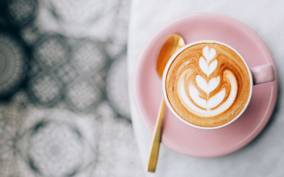 Image of Pink coffee cup