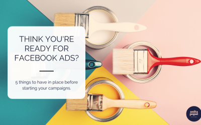 5 things to have in place before starting your Facebook ads campaign